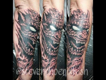 Demon  Forearm