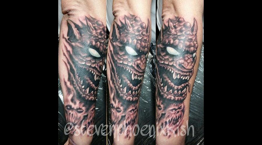 Demon  Forearm