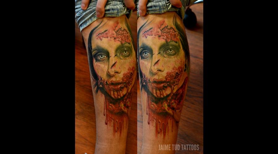 Zombie  Realism  Realistic  Horror Lower Leg