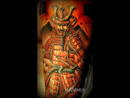 Guerrero Samurai Shoulder