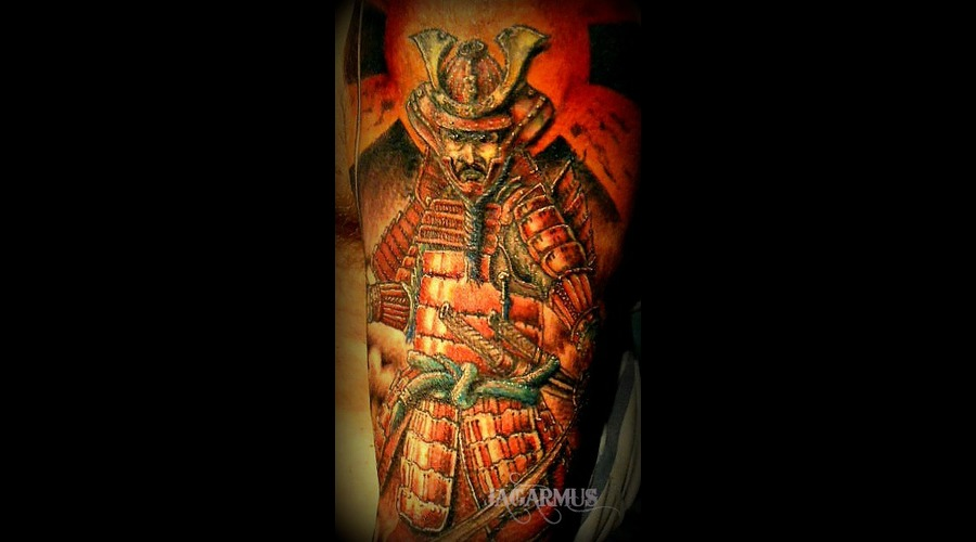 Guerrero Samurai Shoulder