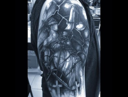 ...And Justice For All....Freehand Arm