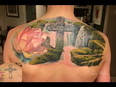 Realistic  Realism  Art  Tattoo Back