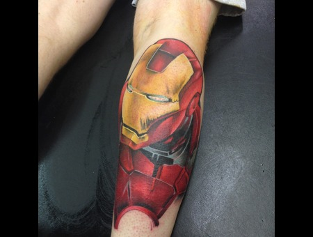 Realism Ironman Marvel Portrait Lower Leg