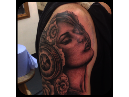 Realism Portrait Religious Shoulder