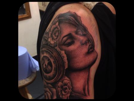 Realism Portrait Religious Shoulder