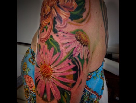 Daisy  Flowers  Color  Realism  Hawaii  Tropical Arm