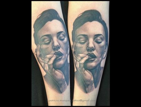 Monica Belucci #Portrait #Smoking