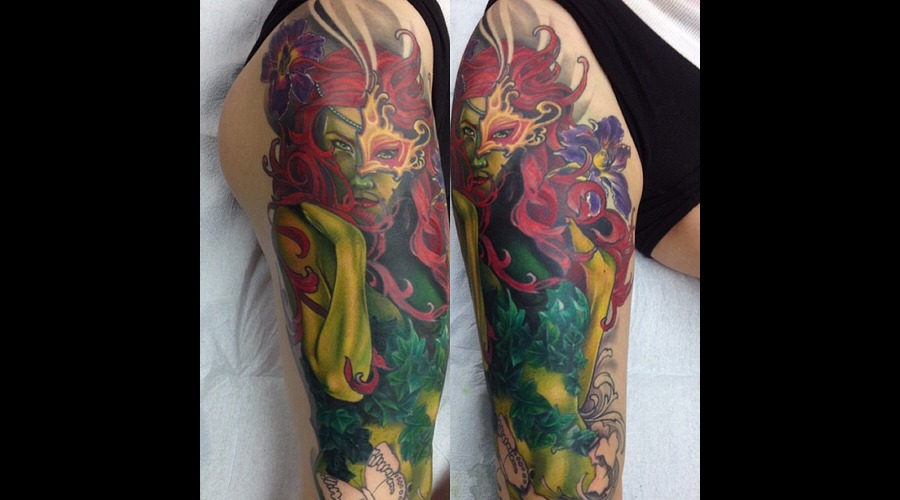Poison Ivy Leg Sleeve Thigh