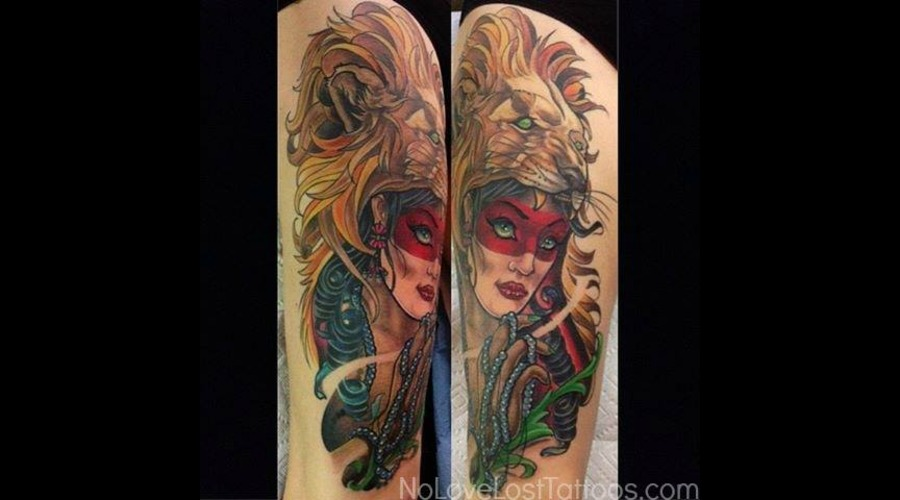 Gypsy Girl  Lion Shoulder