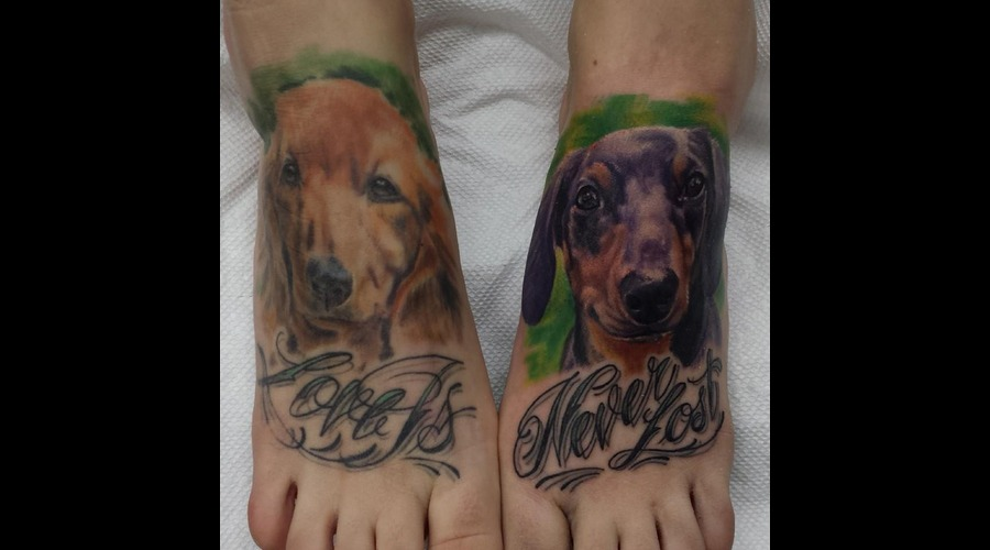 Pet Portrait  Realism  Animal Foot