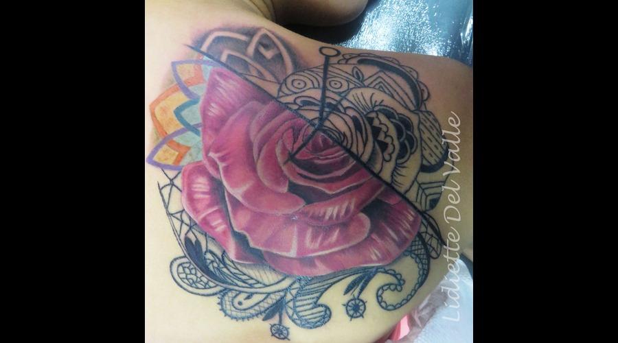 Rose Back