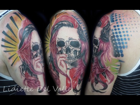 Skull  Artpop Shoulder