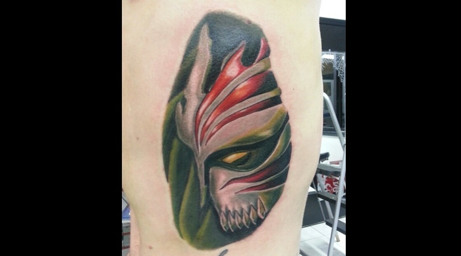 Ichigo  Bleach  Anime  Color  Realism  Hawaii Ribs