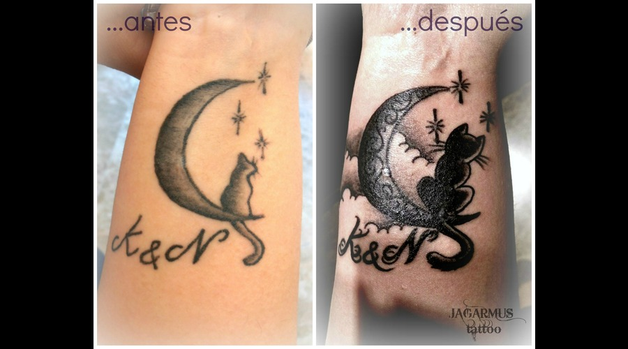 Gato Luna Cover Up Forearm