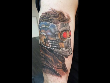 Starlord Tattoo Arm