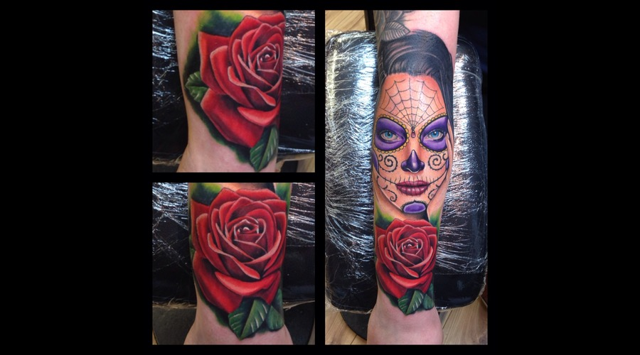 Day Of The Dead Girl Forearm