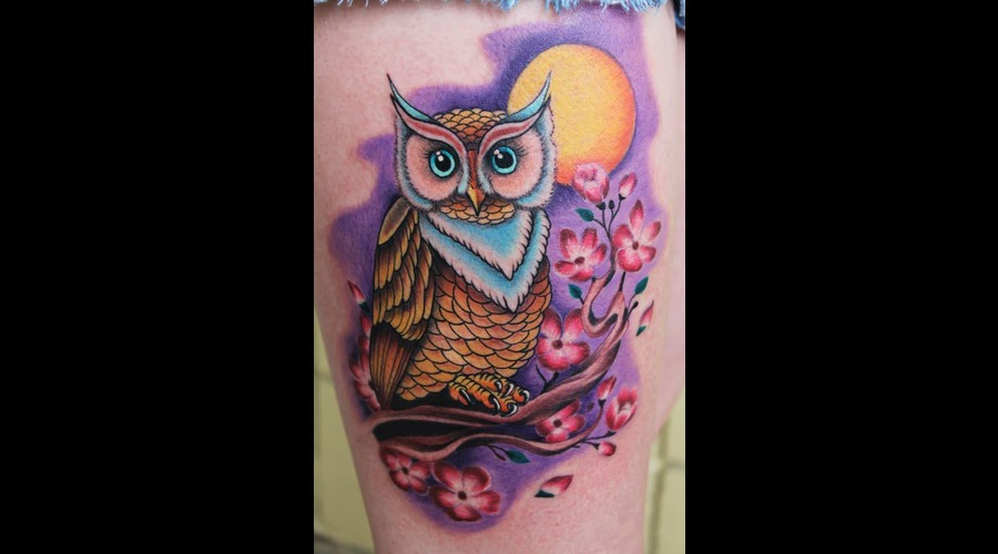 Owl Color Thigh