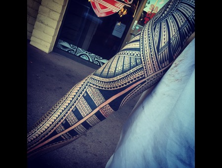 Samoan Tribal  Arm