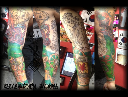 Pirate Sleeve Arm