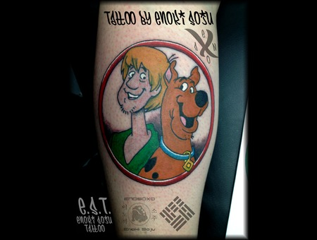 Scooby Doo  Cartoon Arm