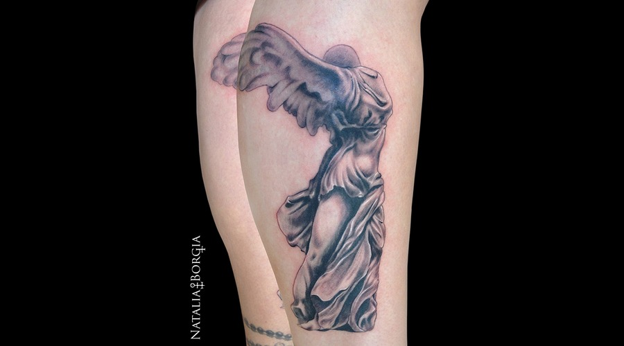 Nike  Statue  Angel  Drape  Headless  Wings Lower Leg