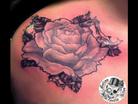 Rose  Flower  Thorn Chest