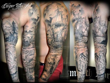 Sail Ship Sleeve  Arm