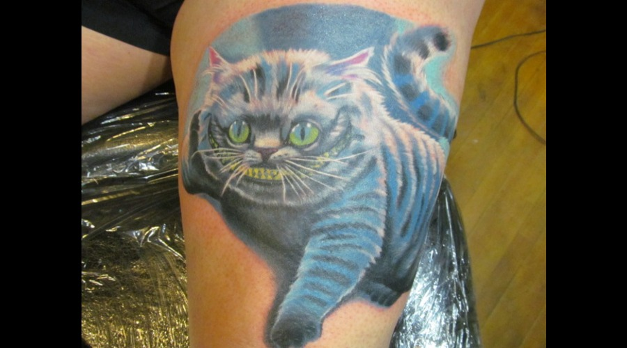 Chesire Cat  Alice In Wonderland  Fictional Characters Thigh