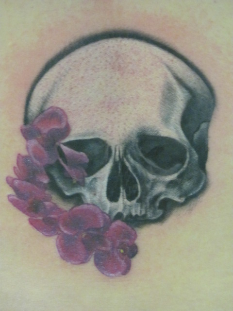 Luke morgan certified artist for Ageless arts tattoo