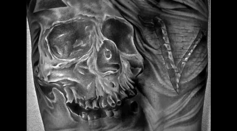 Skull Sleeve  Arm