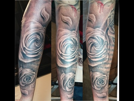 Roses Flowers  Arm