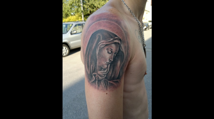 Religion Virgin Mary  Forearm