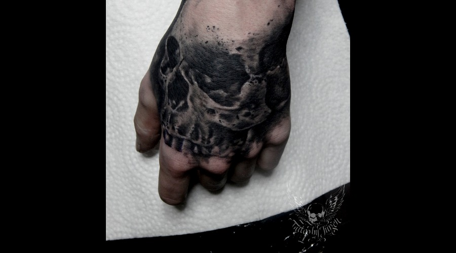 Skull  Realistic   Forearm