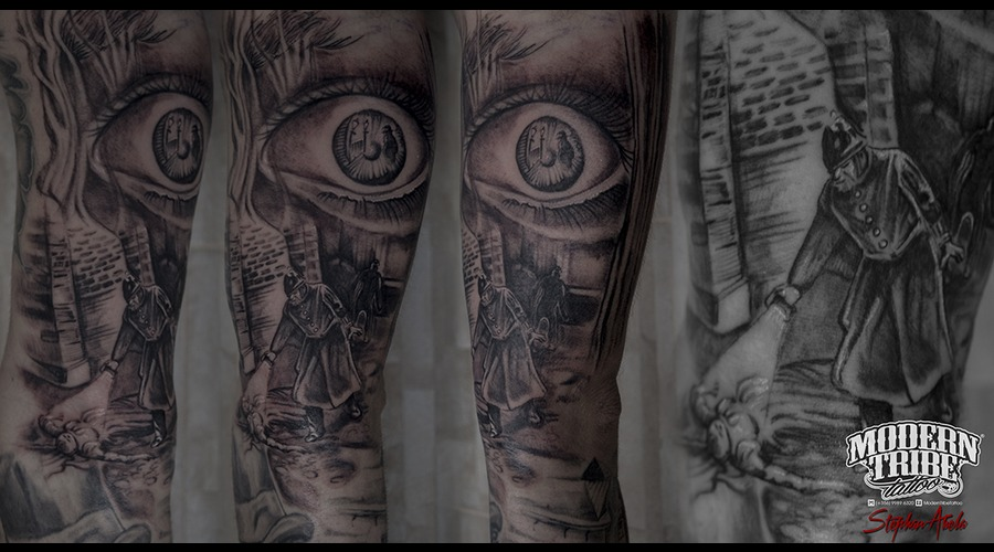 Jack The Ripper Piece :)  Arm