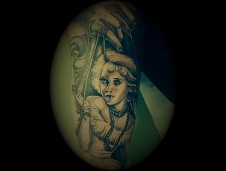 #Ledjaqereshniku#Portrait#Realistic# Arm