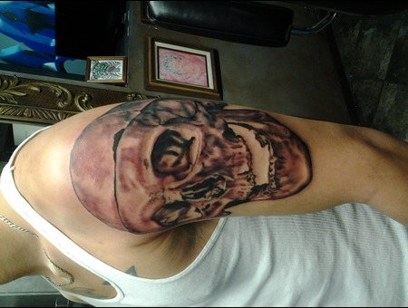Big Skull  Skull  Toothless Arm