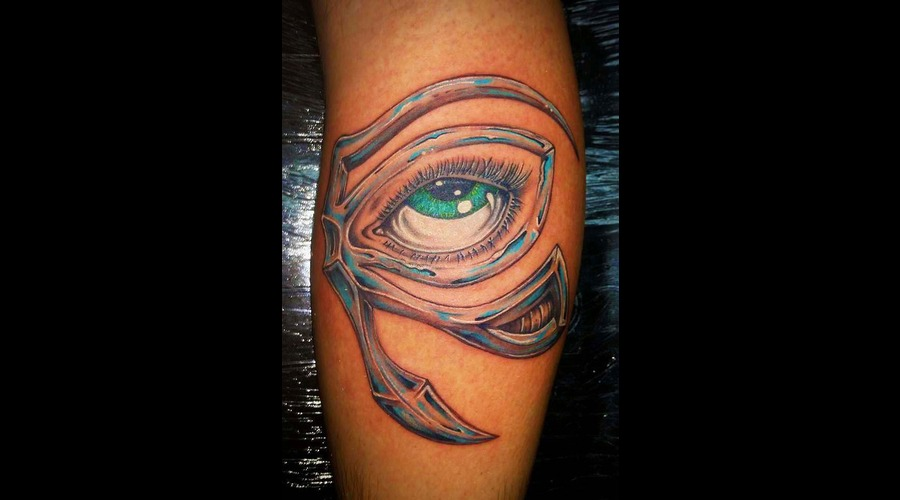 Eye  Eye Of Ra Lower Leg