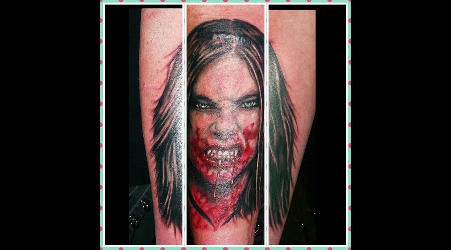 Vampire  Portrait  Forearm