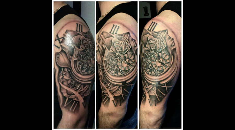 Clock Morphing Rose Arm
