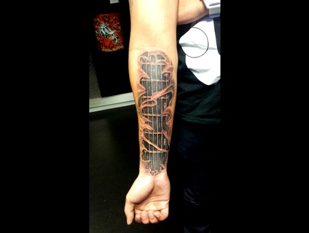 Guitar Realism Biomechanical Forearm