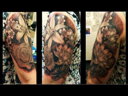 Floral Arm