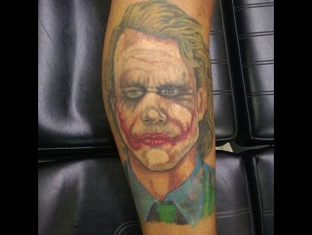 Joker  Batman Lower Leg