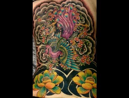Bird Of Paradise  Japanese Back
