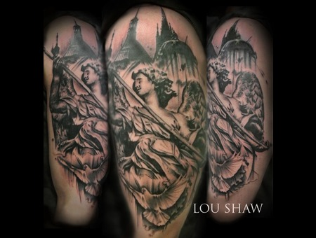 Statue  Religious  Angel  Guardian Angel  Cathedral  Realism  Dove  Arm