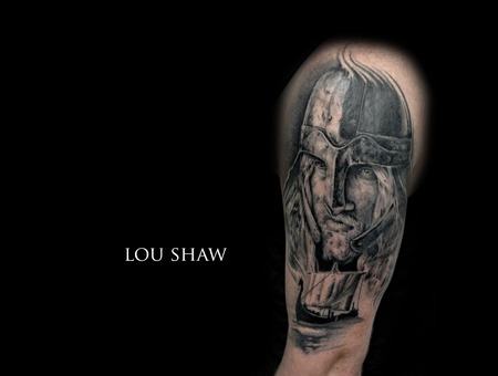 Viking  Vikings  Boat  Realism  Portrait  Warrior  Ship Arm