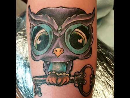 Owl  New School Forearm