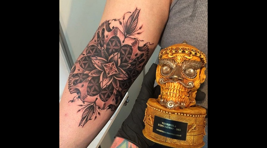 Tattoo  Trash  Art  Madala Arm