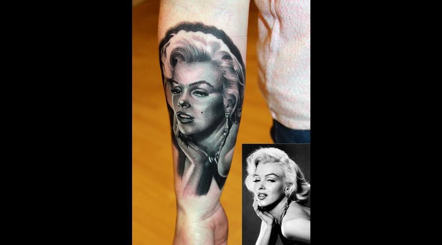 Marilyn Monroe Forearm