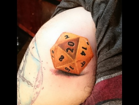 Color Realism Dice Magic Bright Shoulder